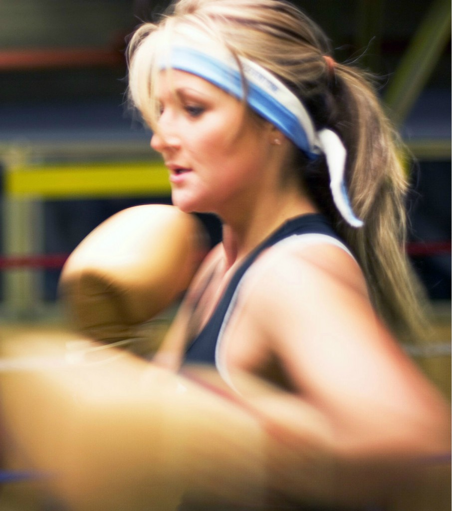 Boxing with Fiona Hayes - Personal trainer in North London