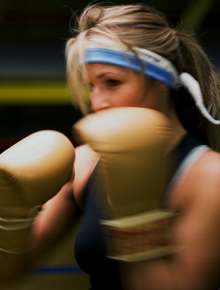 Boxing personal training with Fiona Hayes
