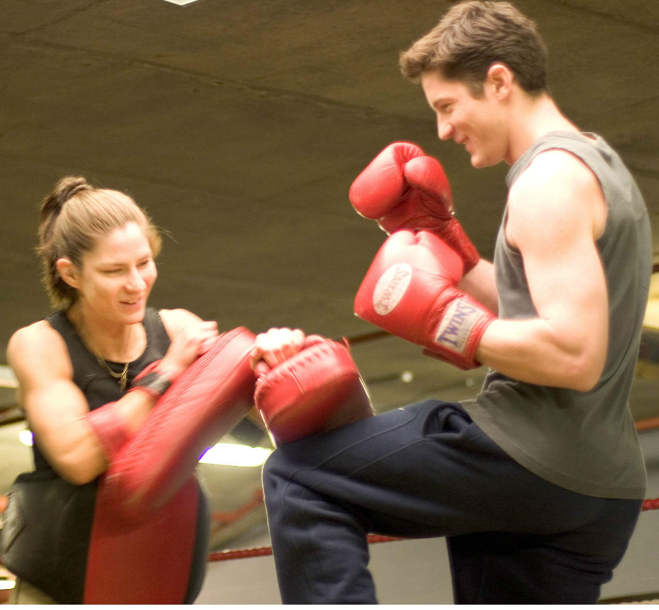 Kickboxing with Fiona Hayes - Personal trainer in North London