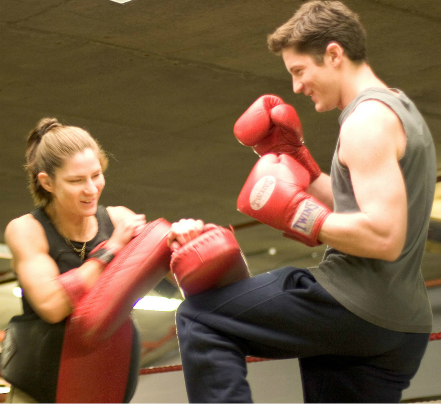 Kickboxing personal training with Fiona Hayes